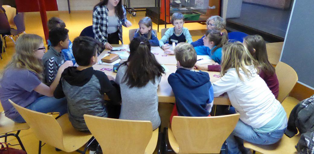 Arbeitsgruppe Umbau Schulgebäude.