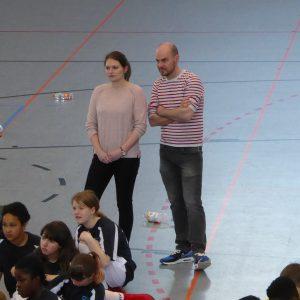 Frau Kerkamm und Herr Schröder-Micheel: Tolle Trainer.